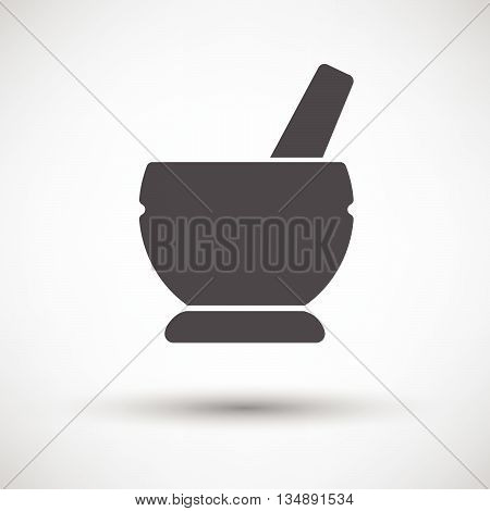 Mortar And Pestel Icon