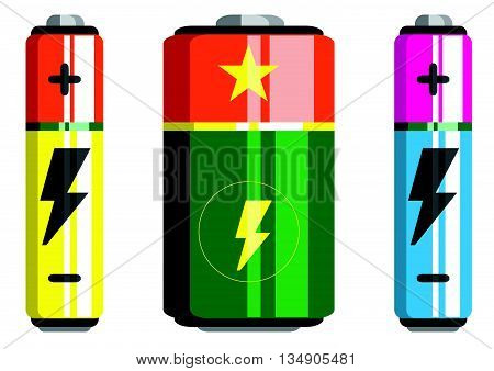 Battery icon battery vector battery isolated icons
