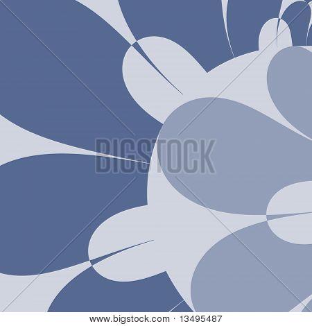 Petals in Wedgwood Blues