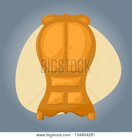 Cupboard icon Cupboard icon eps 10 Cupboard icon vector Cupboard icon jpg. Vector illustration