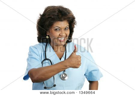 Medical Professional - Thumbs Up