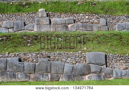 Sacsayhuaman, Inca Ruins In Cusco, Peru