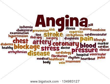 Angina, Word Cloud Concept 8