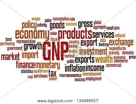Gnp - Gross National Product, Word Cloud Concept 8