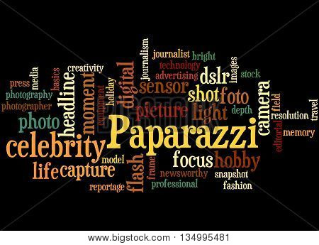 Paparazzi, Word Cloud Concept 5