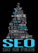 SEO - Search Engine Optimization poster for your web poster