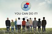 You Can Do It Goal Target Reason Potential Vision Concept poster