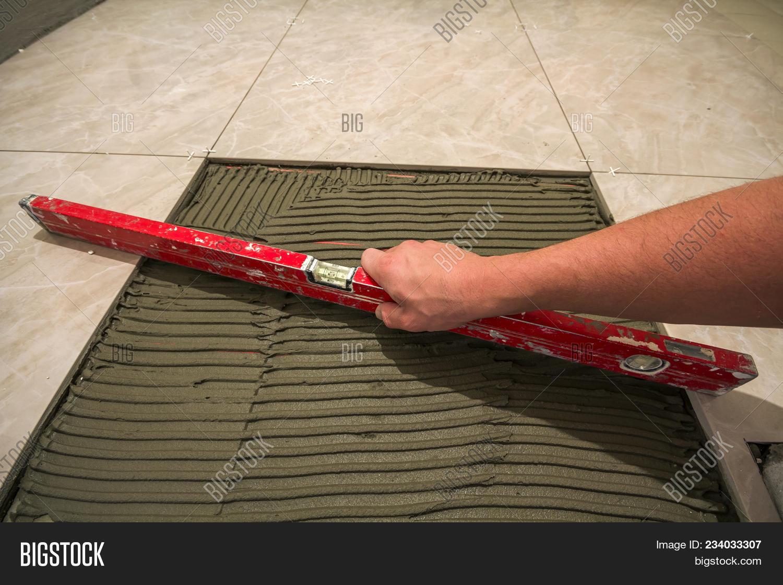 Ceramic Tiles Tools Image Photo Free Trial Bigstock