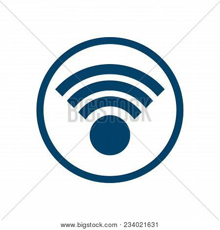 Wifi Icon And Wireless Free Wifi Internet And Wifi Symbol Wifi Zone And Connect Wifi Signal. Vector
