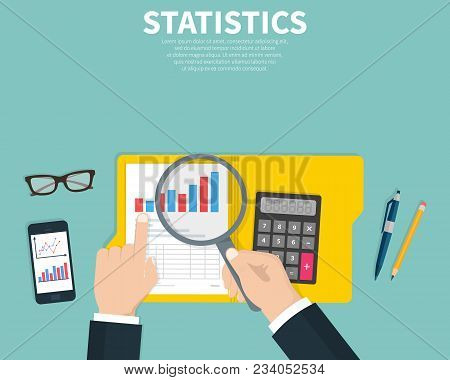 Statistical Data Presented. Financial Report. Research, Project Management, Planning, Accounting, An