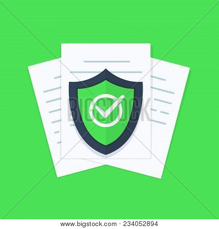 Document Protection Concept, Confidential Information And Privacy Idea, Security Documentation Acces