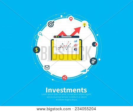 Financial Investments Concept, Marketing, Analysis, Security Of Deposits, Guarantee Of Security Fina