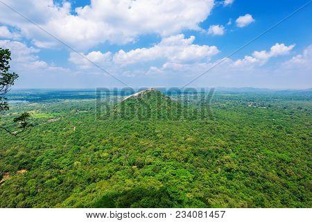 Beautiful View From Sigiriya - Lion Rock, Sri Lanka