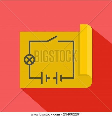 Circuit Icon. Flat Illustration Of Circuit Vector Icon For Web