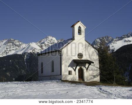 Chapel In Serfaus, Austria