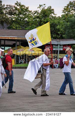 Pilgrims in Czestochowa