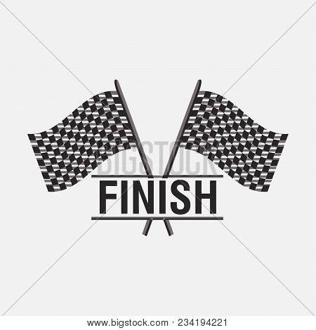 Finish Sign Flags, Victory Icon, Car Speed, Racing Victory, Auto Illustration, Illustration