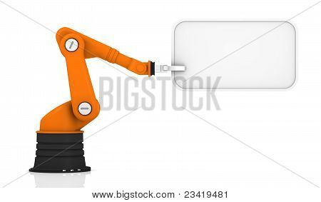 Robotic Arm With Tag