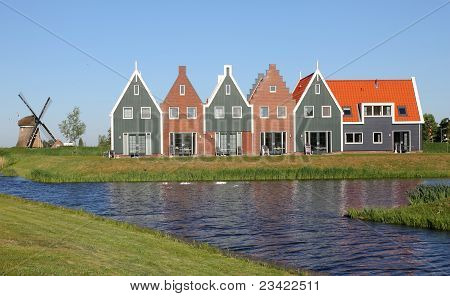 New houses, Holland