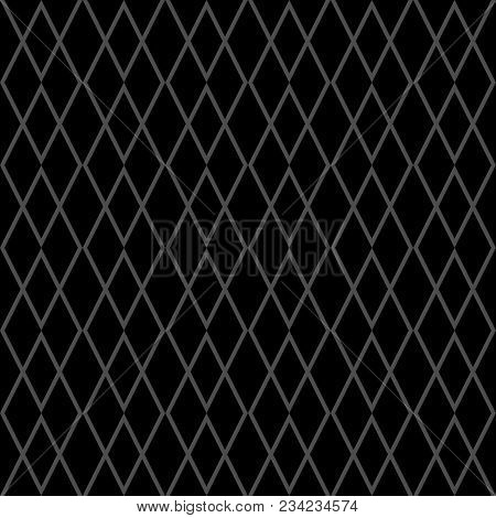 Tile Grey And Black Vector Pattern For Seamless Decoration Wallpaper