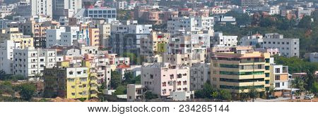 Hyderabad, INDIA - December 16 : Hyderabad is the fourth most populous city and sixth most populous urban agglomeration in India, on December 16,2015 Hyderabad, India