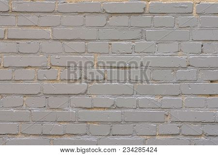 Background, Texture, Fragment Wall Of White Brick, Inaccurately Stacked, Old And Dirty, Applicable F