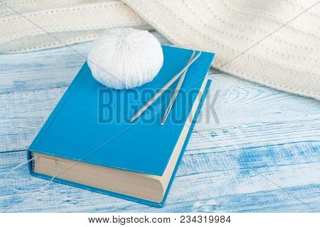 Handmade Gift For Special As Mother, Father, Valentine Day Or Wintertime, Heap Of Ball Of Wool To Kn