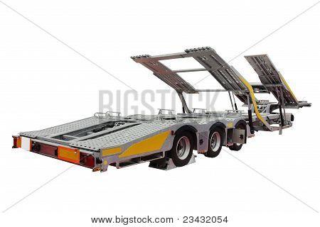 Automobile Transporter Semi-trailer