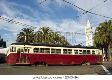 Trolley Or Tram In San Francisco