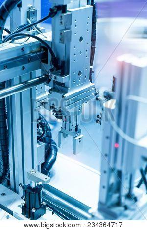 robotic pneumatic input to robot handle grip handle poster