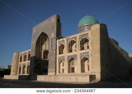 Bukhara Mir - I - Arab Madrasa Before Sunset