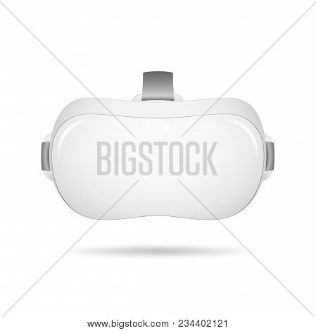 Vr Virtual Reality Headset. Realistic Virtual Reality Headset Glasses