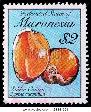 A 2-dollar Stamp Printed In The Federated States Of Micronesia