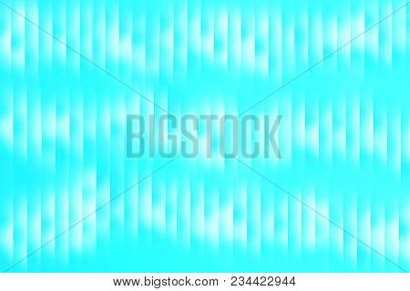 Light Blue Turquoise Abstract Textured Background Vertical White Stripes For Use In Design, Web Site