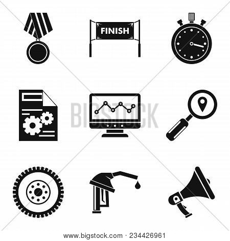 Victory Icons Set. Simple Set Of 9 Victory Vector Icons For Web Isolated On White Background