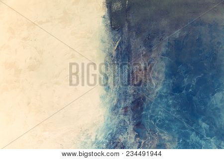 Creative Abstract Painted Background, Marble Texture,  Texture, Acrylic Paint On The Wall. Modern Ar