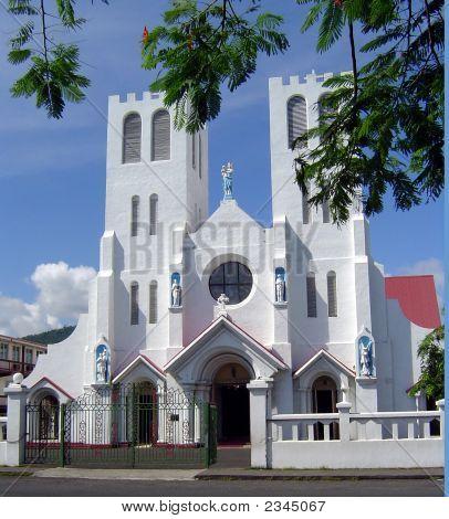 Church On Main Street Of Apia Samoa