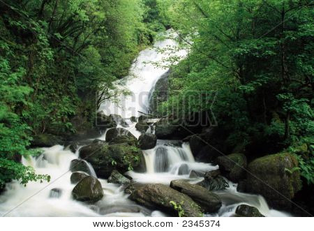 Torc Waterfall, Killarney Ireland