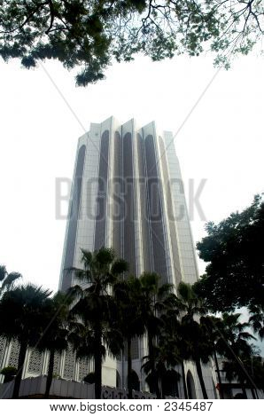 Muslim Government Building In Kuala Lumpur Malaysia