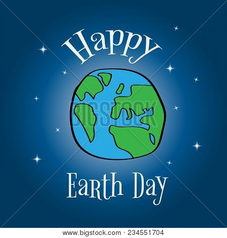 Earth Day. Eco Friendly Ecology Concept. World Environment Day Background. Save The Earth. Green Day