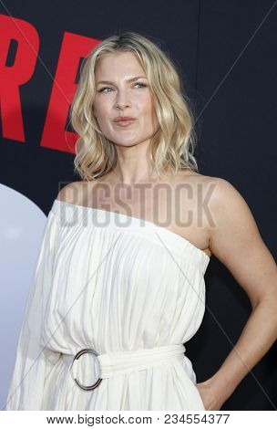 Ali Larter at the Los Angeles premiere of 'Blockers' held at the Regency Village Theatre in Westwood, USA on April 3, 2018.