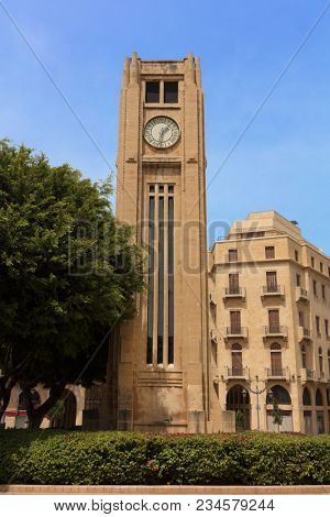 Nijmeh Square downtown in Beirut capital city of Lebanon Middle east