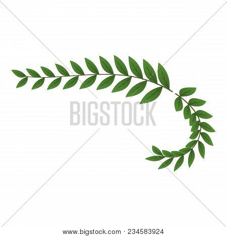 Trophy Wreath Icon. Isometric Illustration Of Trophy Wreath Vector Icon For Web
