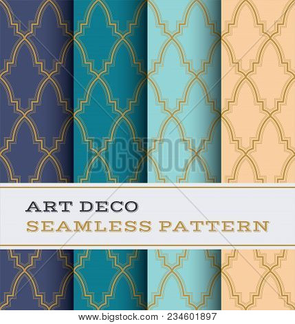 Art Deco Seamless Pattern 36
