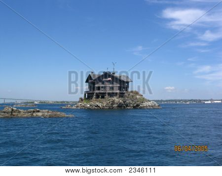 beachside mansion