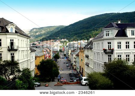 Houses At Bergen Norway