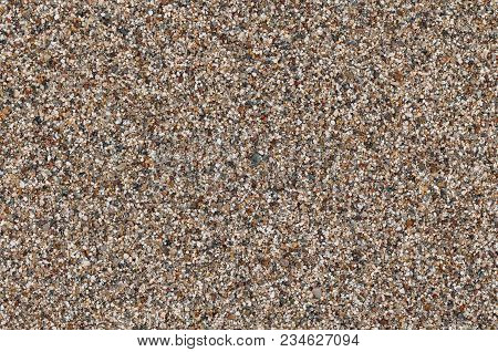 Granular Beach Sand Texture. Close Up Macro