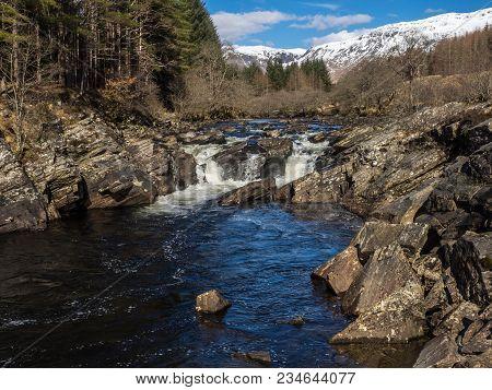 Easan Dubha Waterfalls