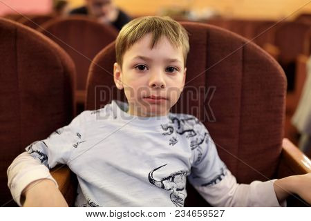 Preschooler Watching Theatrical Performance