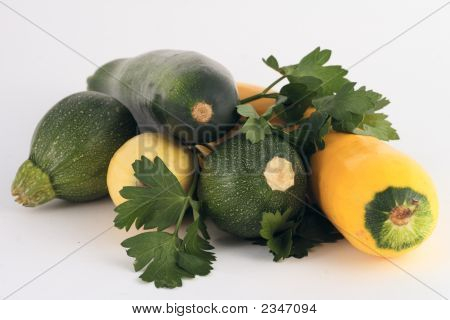 Zucchini And Cucumber